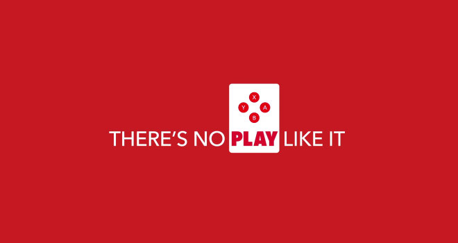 Nintendo's new slogan, with which they will march into Holiday 2016 and into 2017