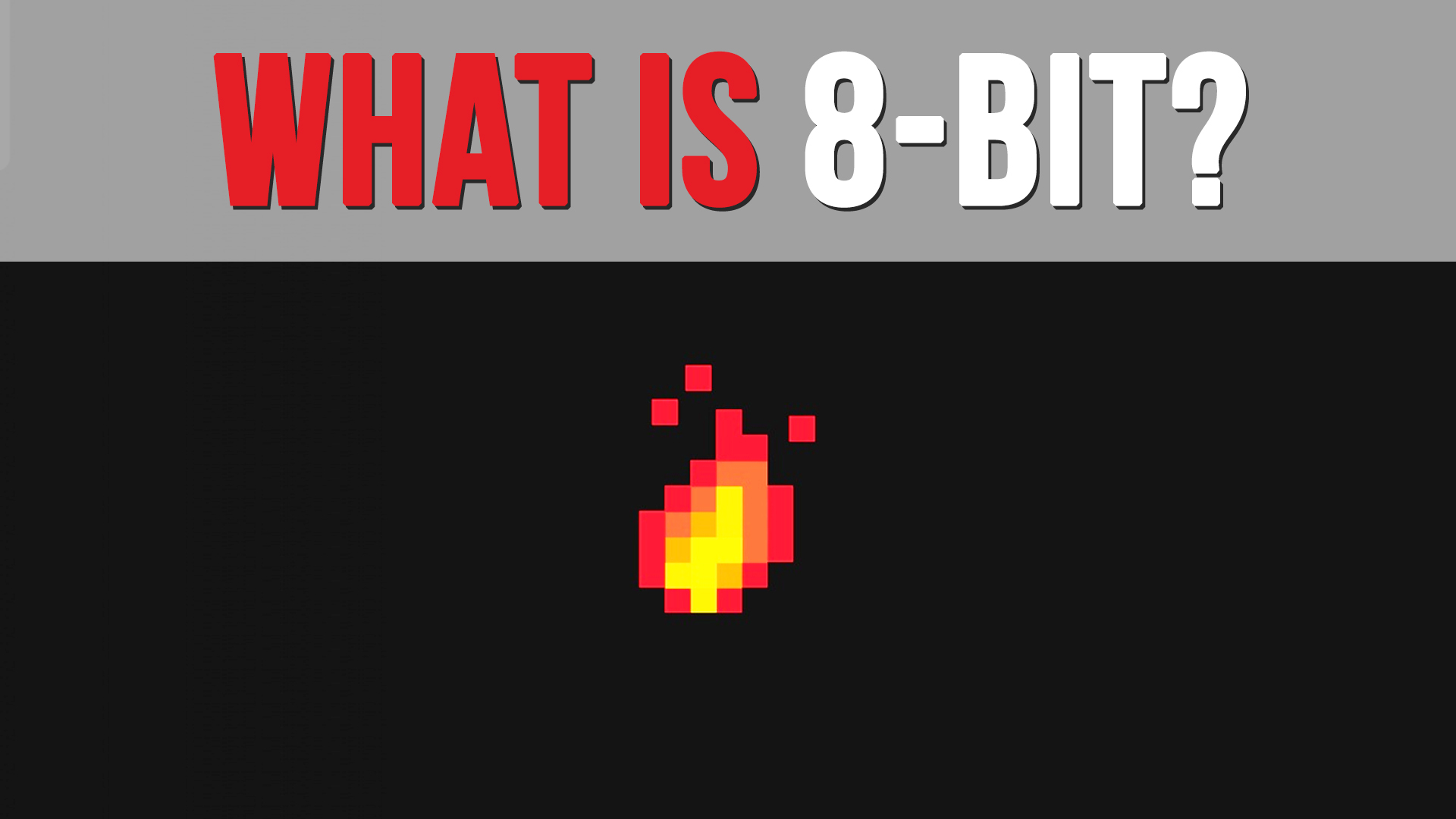 What Does 8 Bit Mean Two Button Crew