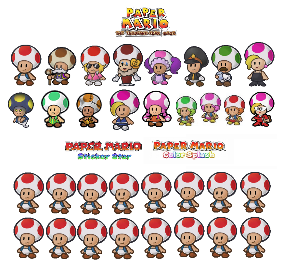 Paper Mario Archives Two Button Crew