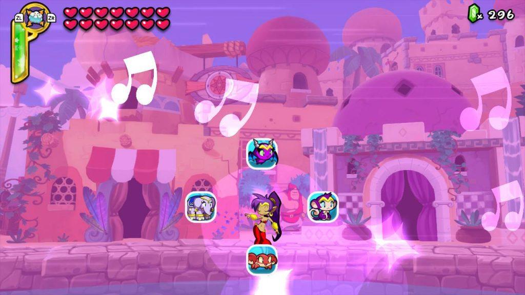 Well, at least Shantae's having fun...